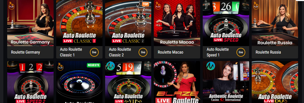 Live Roulette Microgaming